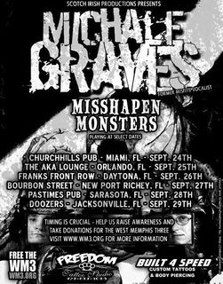 Michale Graves Misshapen Monsters